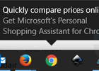 Microsoft adverteert weer met pop-up in taakbalk