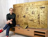 Deze ultra-hdtv van Samsung is van goud