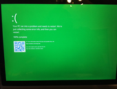 Microsoft maakt 'blue screen of death' groen in Windows 10-preview