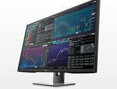 P4317Q uhd-monitor van Dell kan vier schermen tegelijk tonen