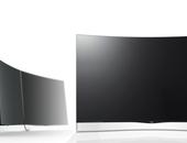 LG brengt als eerste krom flatscreen op de markt