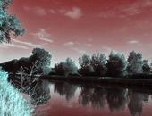 Infraroodfoto's simuleren