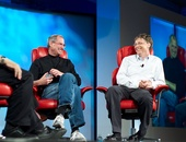 Bill Gates geëmotioneerd in interview over Steve Jobs
