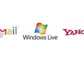 Yahoo en Hotmail vaker misbruikt dan Gmail
