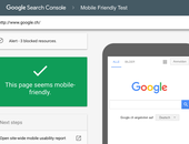 Google experimenteert met mobile first