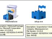 Nepvariant Security Essentials leidt naar supportscam