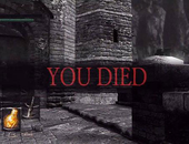 Gamer speelt Dark Souls uit met Guitar Hero-controller