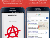 Adblockers nu te installeren voor Android-browser van Samsung