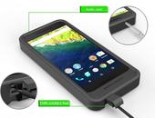 Oplaadhoes Nexus 6P verdriedubbelt accuduur
