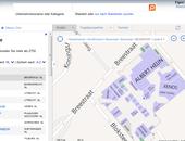 Winkelen met Bing Maps