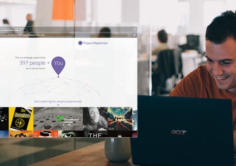 Torrents streamen met peer-to-peer-browser Maelstrom