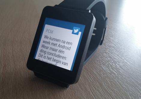 Review: Android Wear is het begin van een prachtige toekomst