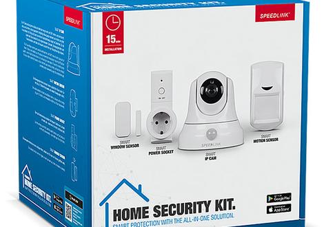 Review: SpeedLink Home Security Kit stelt teleur in de mogelijkheden