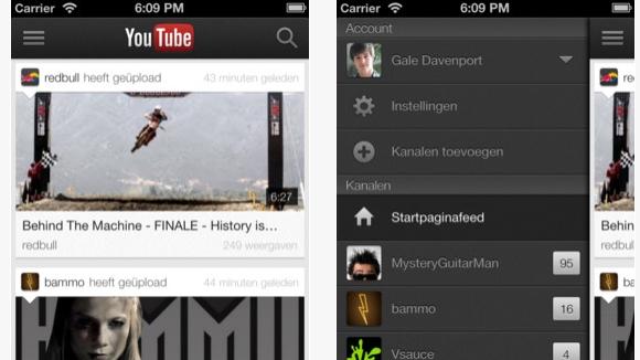 YouTube app eindelijk geschikt voor iPad en iPhone 5