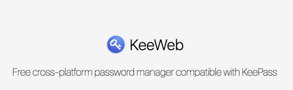 KeePass op het web met KeeWeb