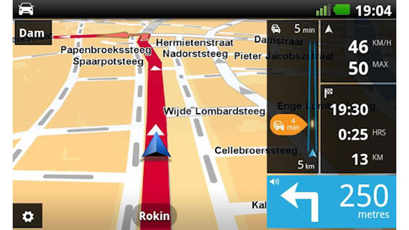 TomTom West-Europa voor Android