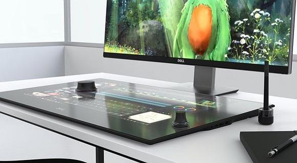 Dell Canvas is een slim bureaublad voor ontwerpers