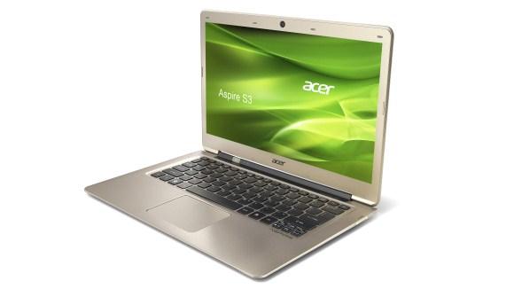 Acer's nieuwe Aspire S3 ultrabook