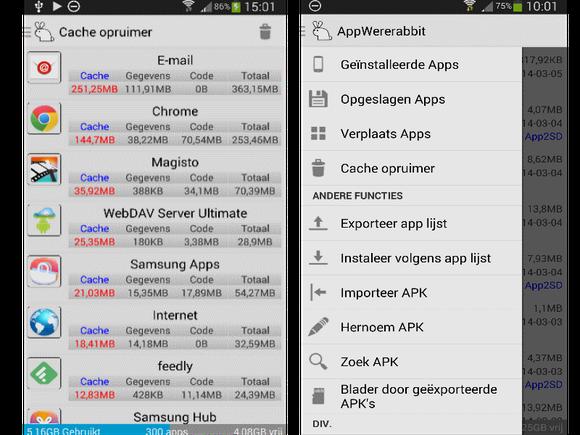 Review: AppWererabbit Backup voor Android