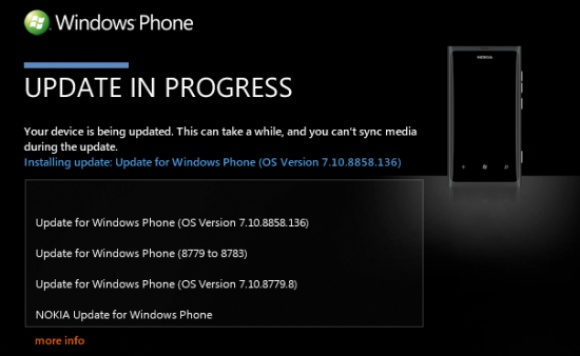 Windows Phone 7.8 update is te forceren