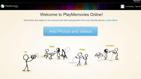 Sony PlayMemories Online bevecht Google Drive