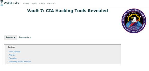 WikiLeaks publiceert grote hoeveelheid geheime CIA-data
