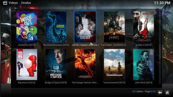 Gratis films en tv-series kijken in Kodi zonder torrents