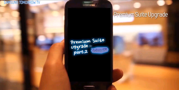 Tweede deel nieuwe functies Galaxy S3 bekend