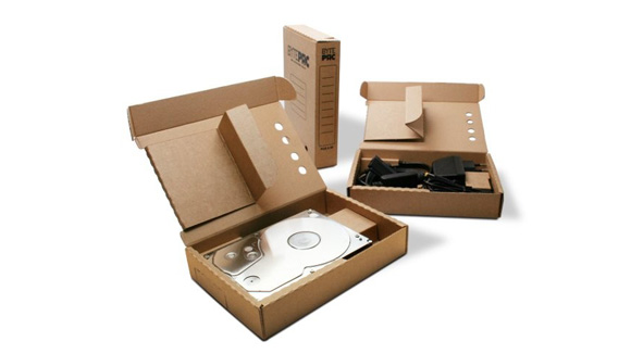 BytePac - Kartonnen externe harddisks