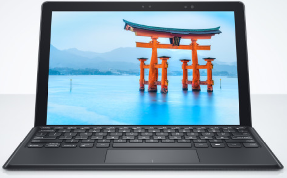 Dell's Latitude 7285 kan zichzelf draadloos opladen via keyboard