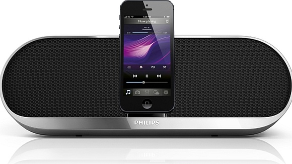 Philips introduceert docking speakers voor iPhone 5