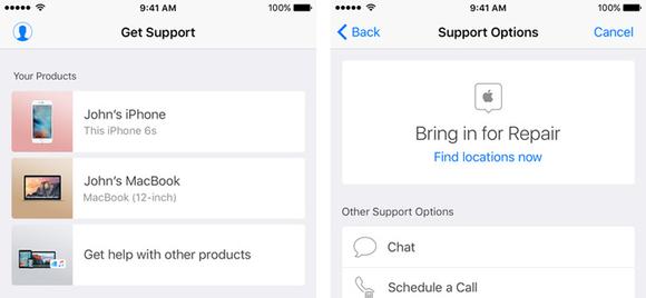 Apple lanceert Support-app als eerst in Nederland
