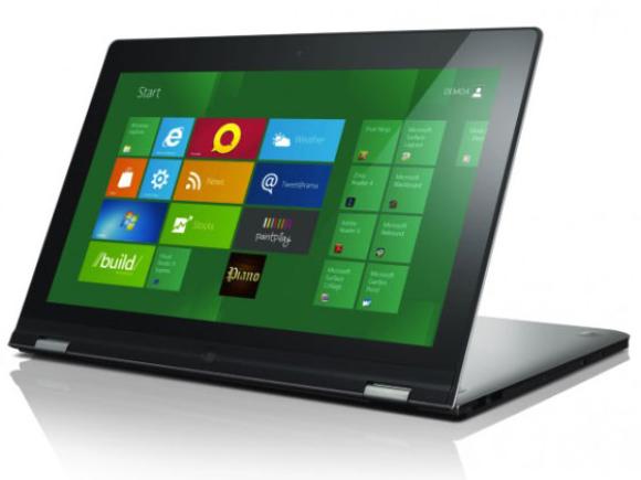 CES 2012: Lenovo IdeaPad Yoga, ultrabook met touchscherm