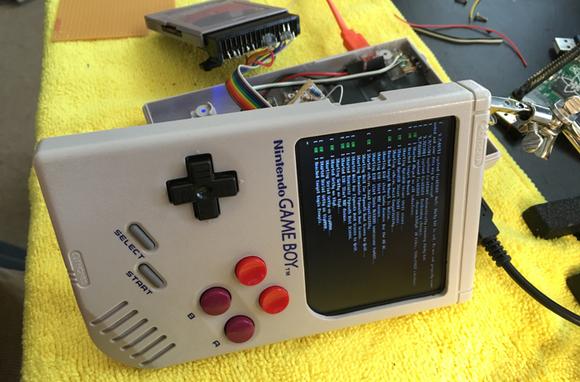 Man bouwt door Raspberry Pi aangedreven 'Game Boy Zero'