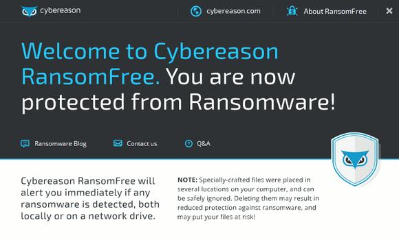 RansomFree is gratis tool die beschermt tegen ransomware