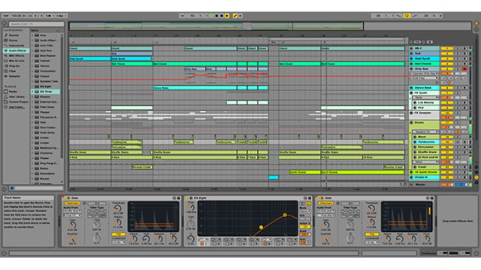 how to import audio to ableton live 9