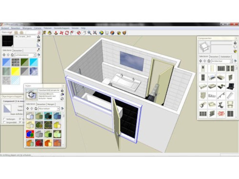 Sketchup pcm for Google 3d tekenen
